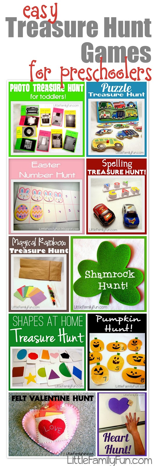 Treasure Hunt Family Games