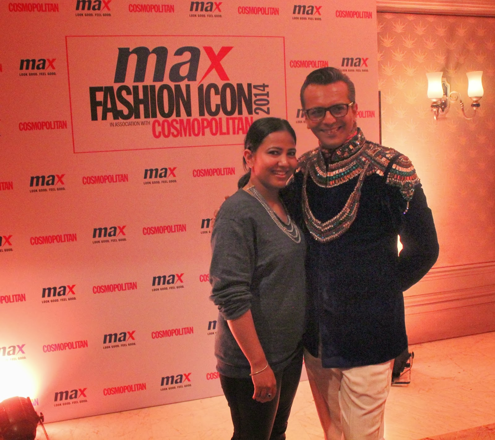 Jiya Saklani and Imam Siddequee - MAX Fashion Icon 2014 In Collaboration  With Cosmopolitan Magazine Grand Finale - All Pictures, Uncut Version