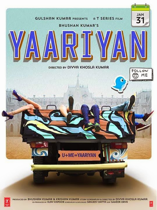 Yariyaan (2014) First Look Poster