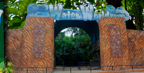 water world entrance