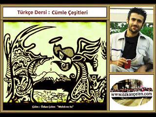 Türkçe Dersi - Cümle Çeşitleri