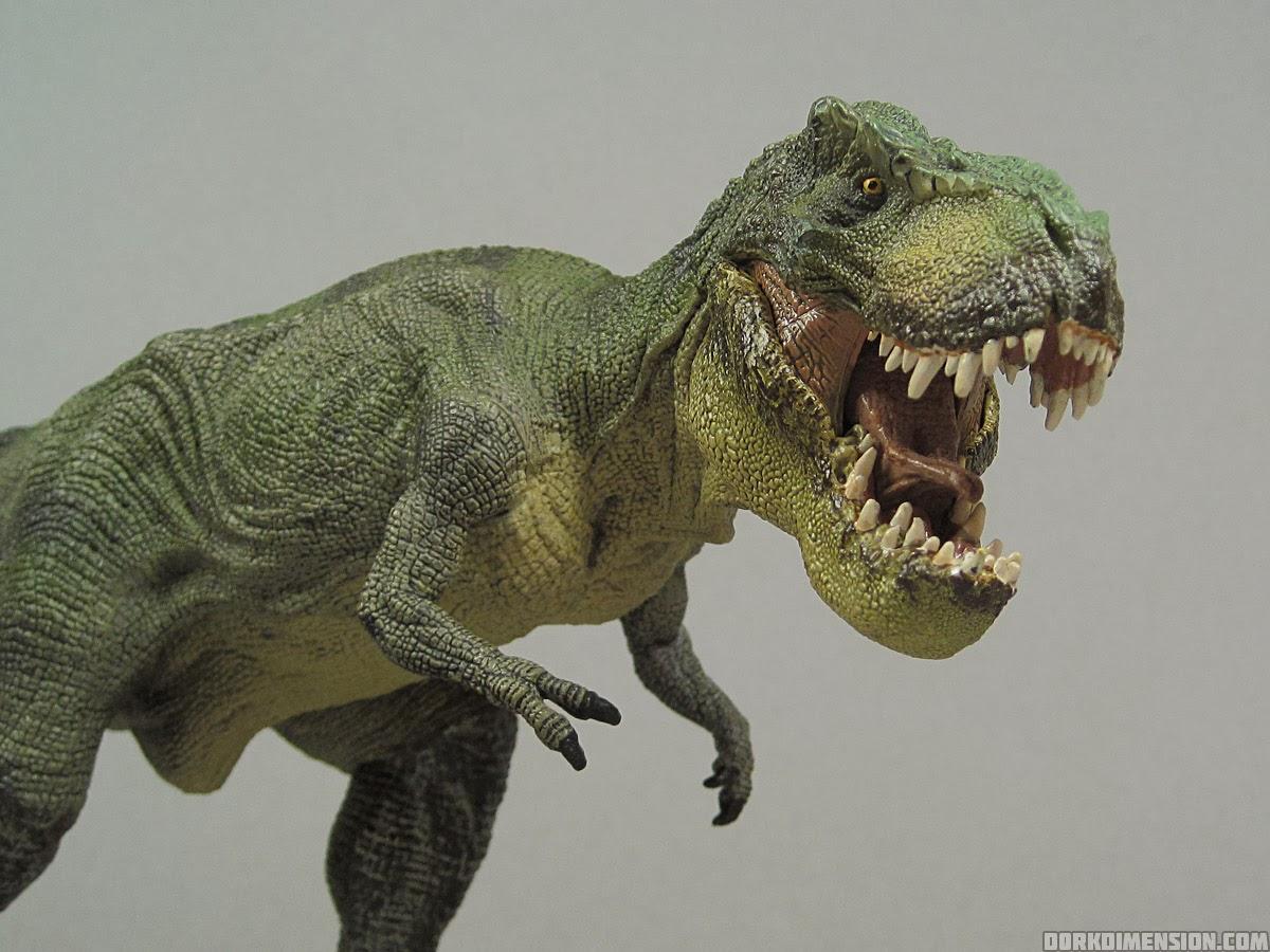 T Rex Toys : Dork dimension toy review papo tyrannosaurus rex v