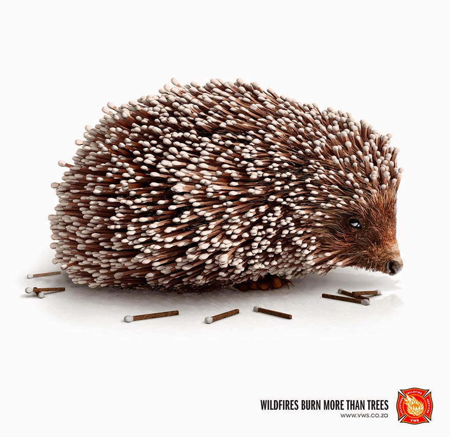 Volunteer Wildfire Services: Wildfires Burn More Than Trees - 33 Powerful Animal Ad Campaigns That Tell The Uncomfortable Truth