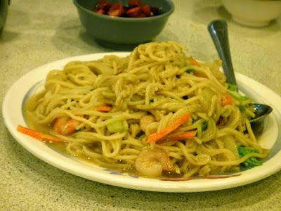 Seafood Noodle at Yehliu