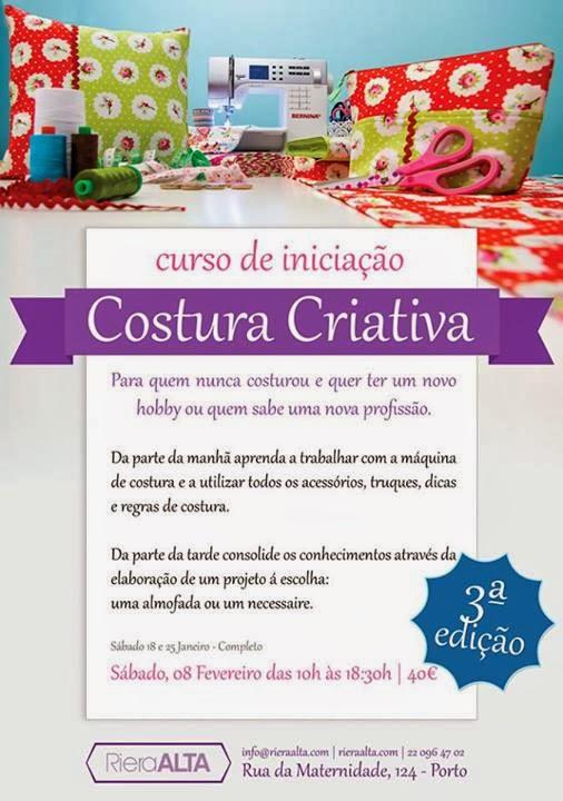 curso de costura no Porto