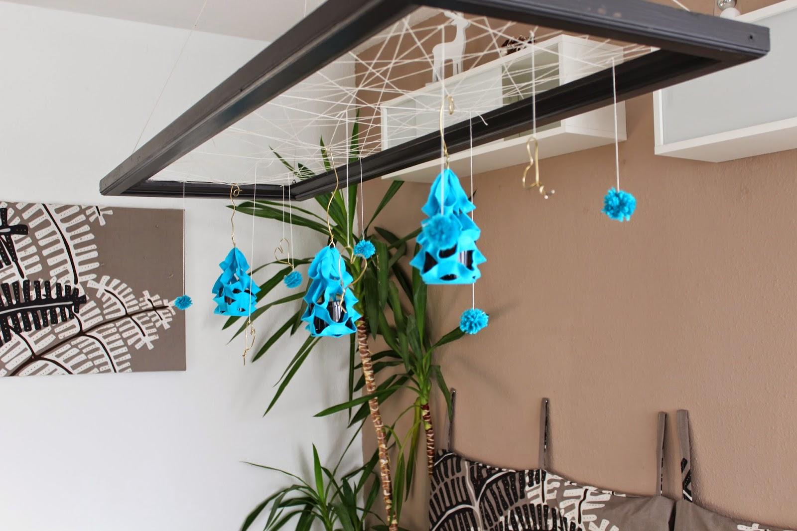 schnelle deko aus draht filz wolle. Black Bedroom Furniture Sets. Home Design Ideas