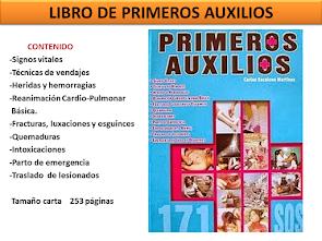 LIBRO DE PRIMEROS AUXILIOS