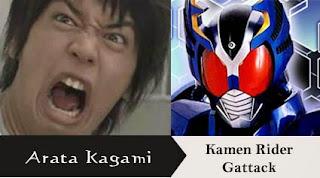 Ekspresi Wajah Lucu Aktor Kamen Rider