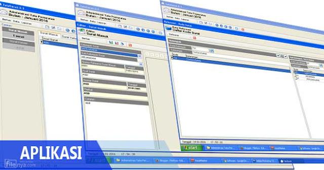 Download Gratis Aplikasi Keluar Masuk Surat Disertai Scan Surat Asli Filenya