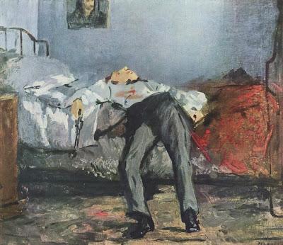 Le Suicidé, Édouard Manet
