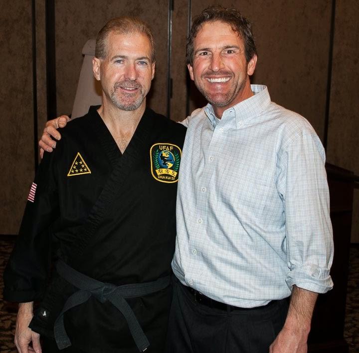 motivational speaker and Chuck Norris' Business manager, Reggie Cochran
