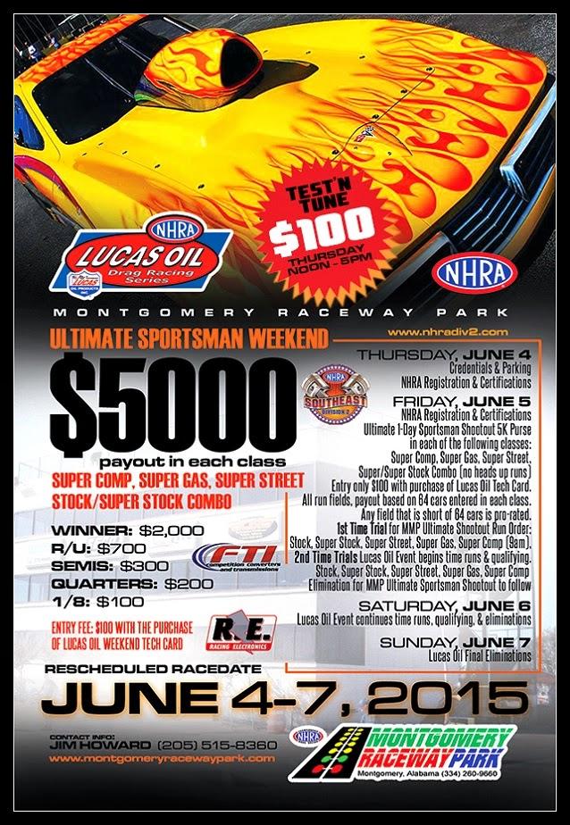 Ultimate Sportsman Weekend at Montgomery Raceway Park