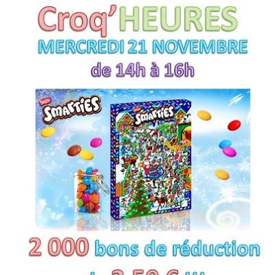 2000 bons de réductions pour un calendrier de l'Avent 2012 Smarties