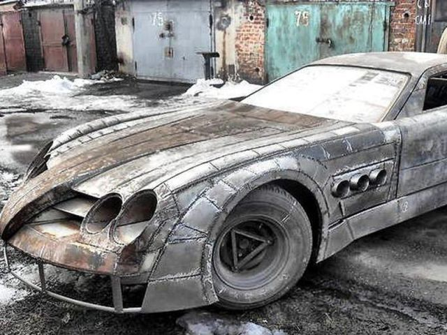 Waiting Bd Crazy Russian Homebuilt Mercedes