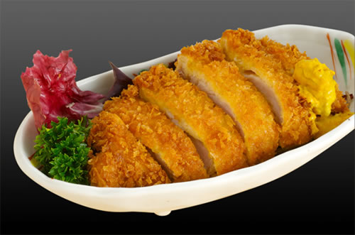 Keywords: japanese food recipes , tonkatsu