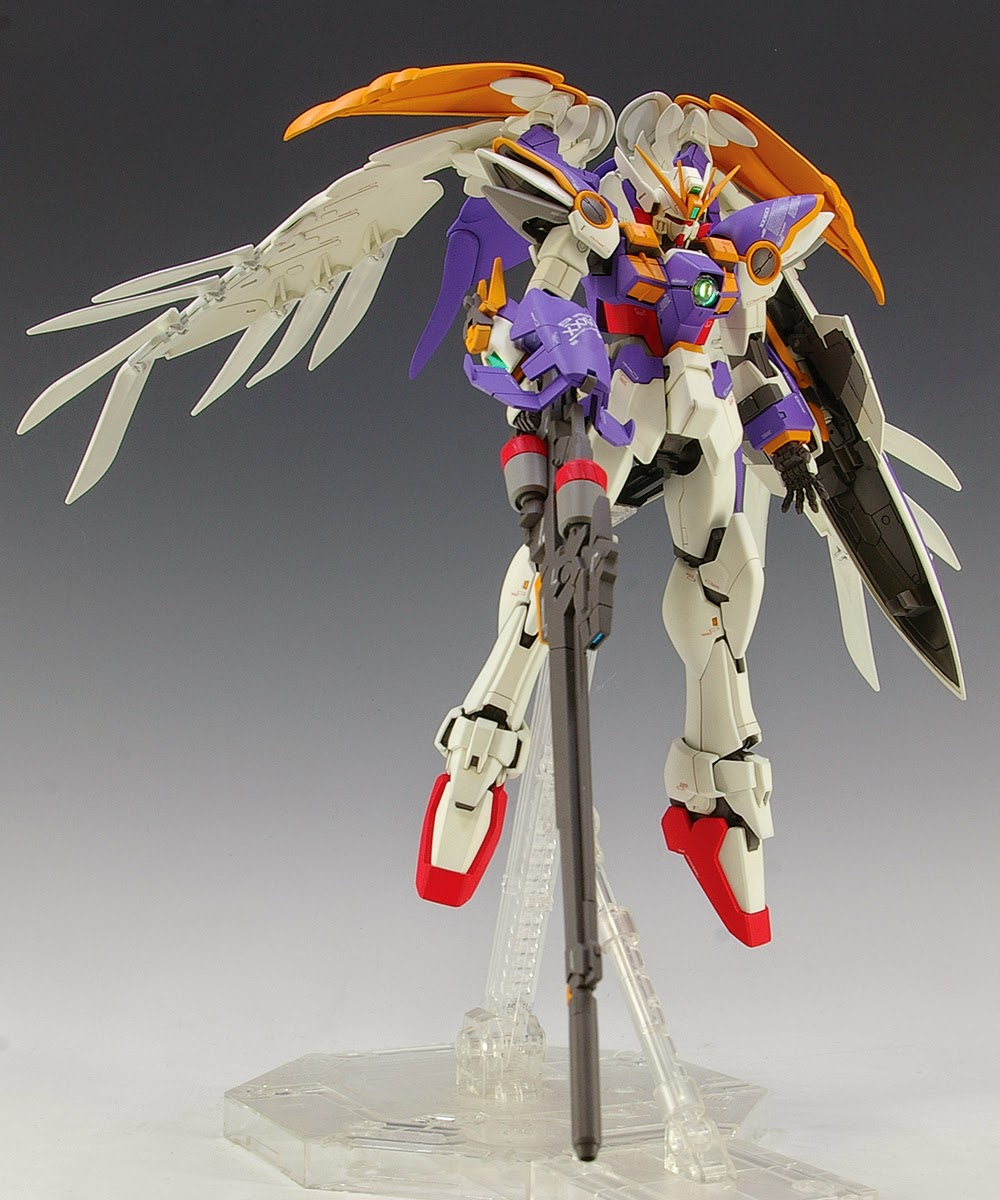 Gundam Guy Mg 1 100 Wing Gundam Ew Ver Ka Customized Build