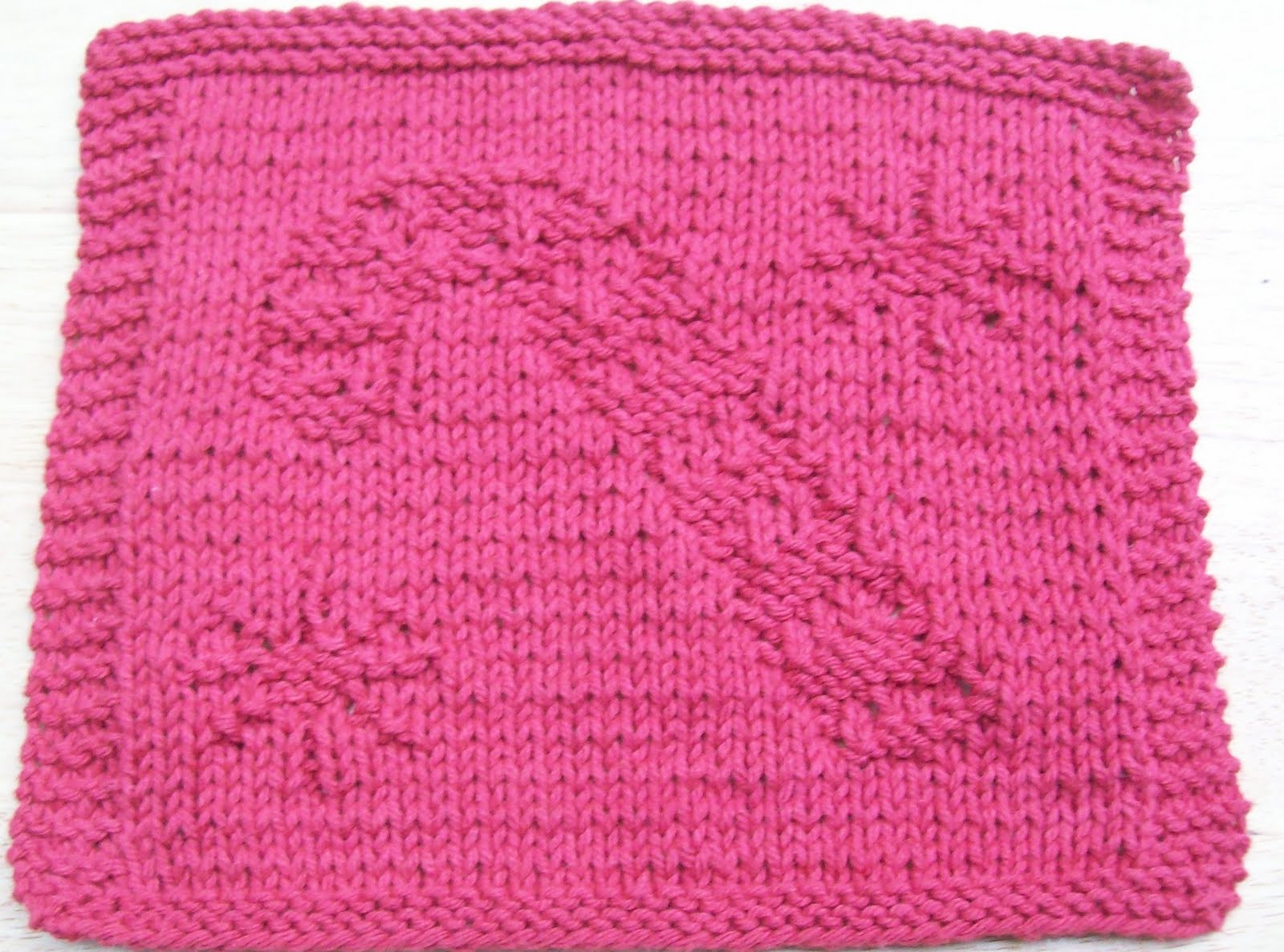 DigKnitty Designs: Another Candy Cane Knit Dishcloth Pattern
