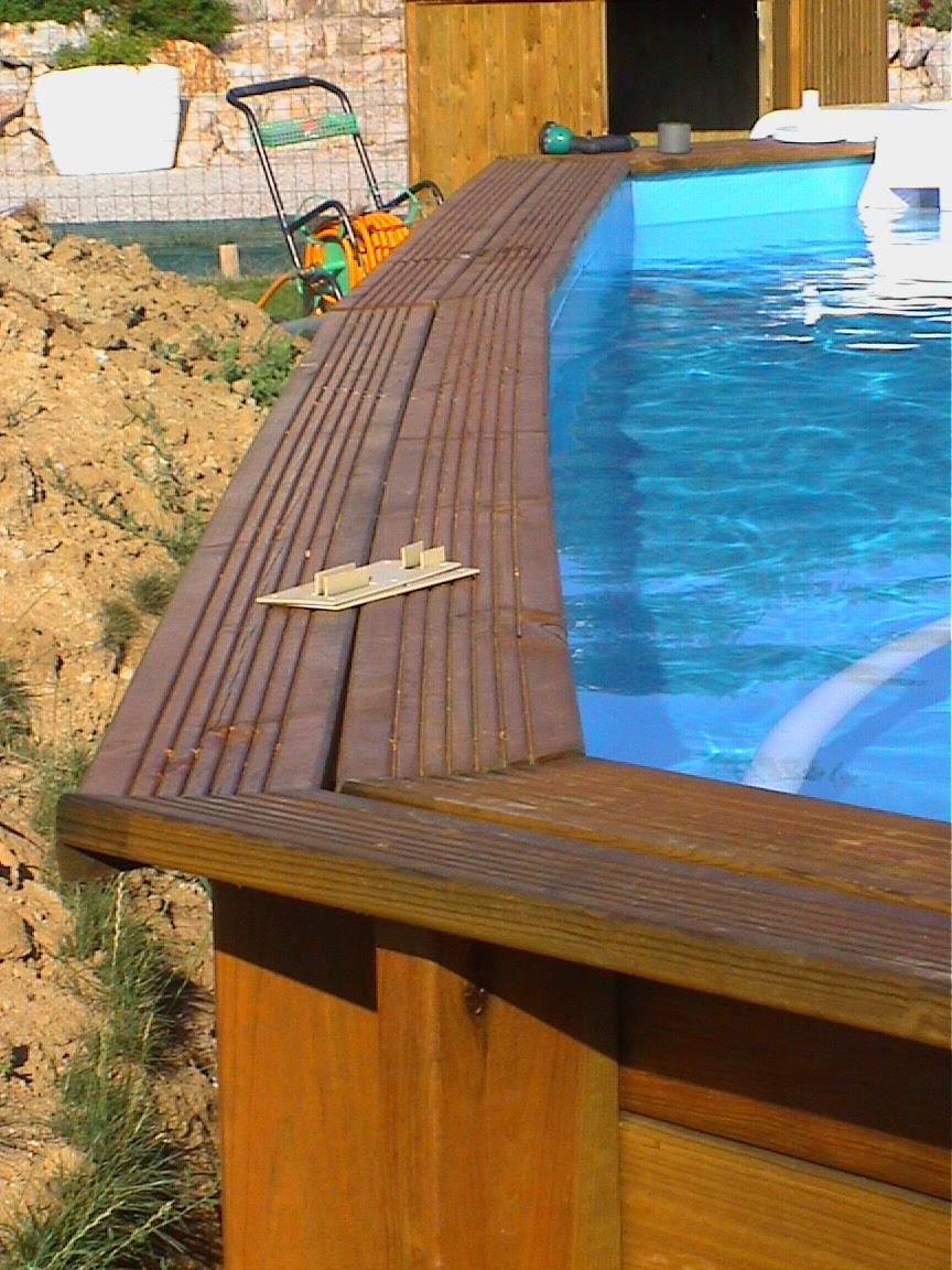 piscine bois pourri