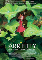Cartel de la película Arrietty