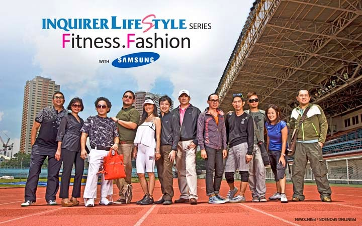 cb738637bc7296 INQUIRER Lifestyle Series  Fitness Fashion with Samsung  The July 31 ...