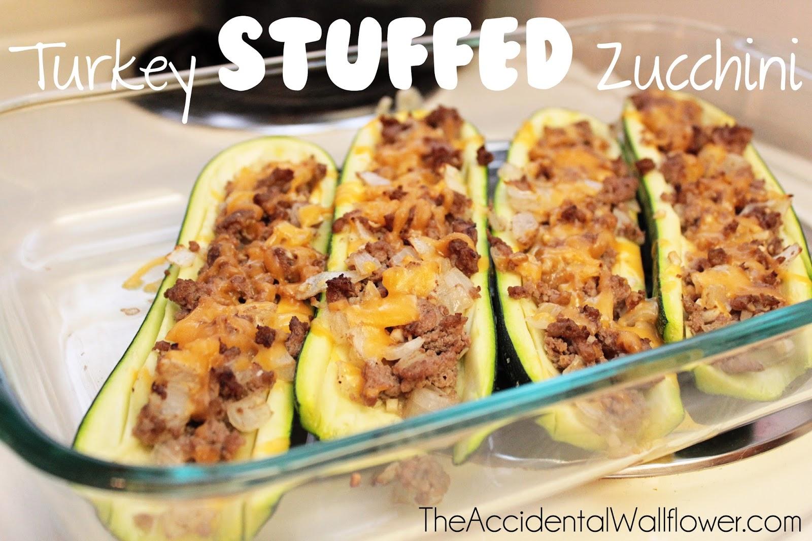 turkey stuffed zucchini serves 2 4 ingredients 2 large zucchinis