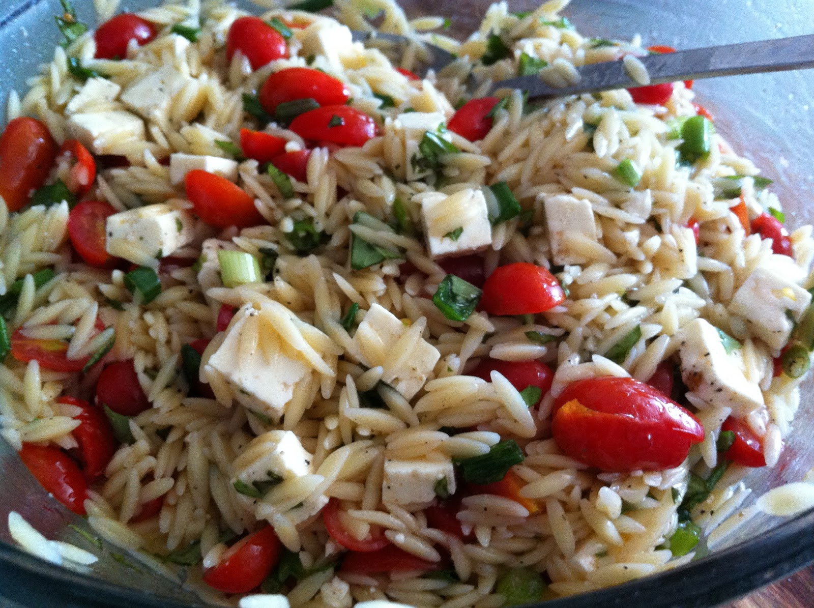 orzo salad | the baked life