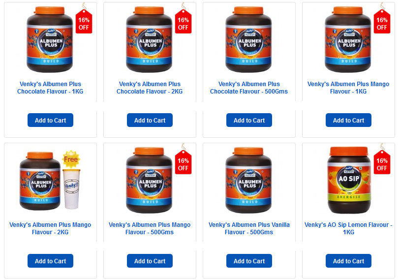 Venkys Sports Nutrition Products & Supplements - DietKart