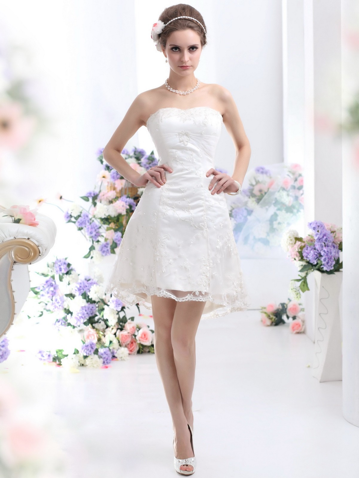 Elegant Short Dresses for Weddings, Wedding Gowns by Simple Elegance, Simple Short Wedding Dress, Classy Short Wedding Dresses, Simple White Short Wedding Dress, Very Simple Short Wedding Dresses, Short Simple Bridesmaid Dresses, Simple Tulle Wedding Dress