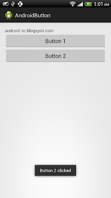 Simple example of Button