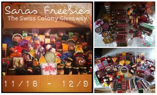 The Swiss Colony 82 Favorite Things Giveaway