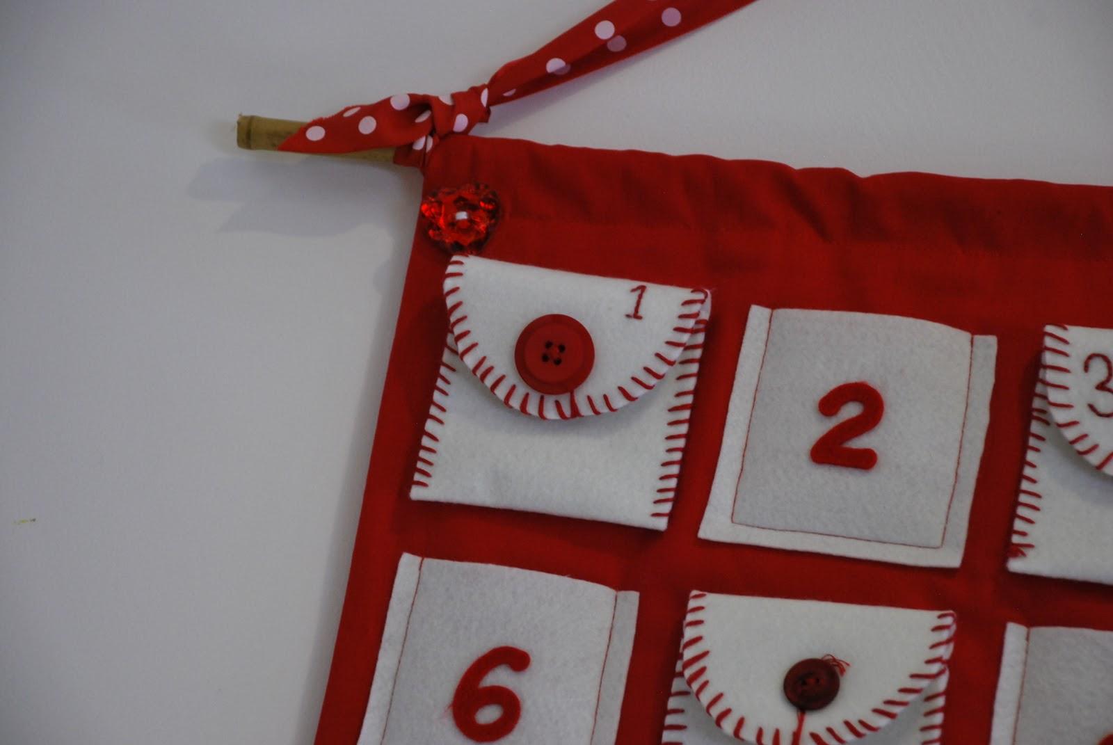 Advent Calendar Handmade Knitting : Children clothes crafts and conversation handcrafted