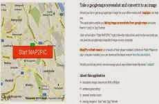 Map2Pic: permite tomar una captura de pantalla de un mapa de Google Maps y convertirlo en una imágen en jpg ó png