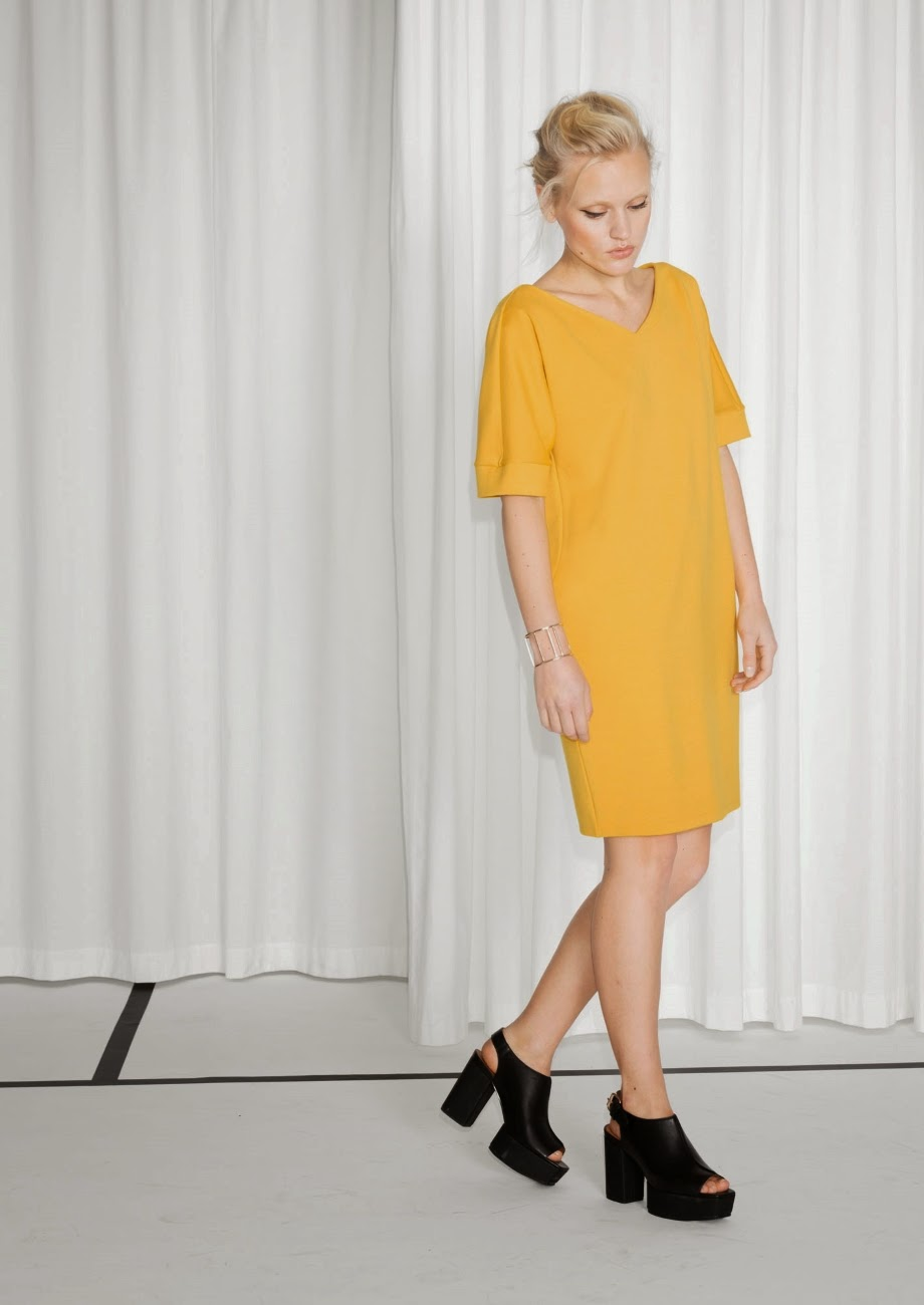 stories yellow dress