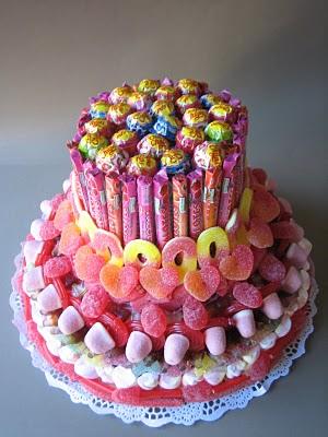 Fiestas con encanto tarta de chuches una barbie chuche - Tartas de chuches fotos ...
