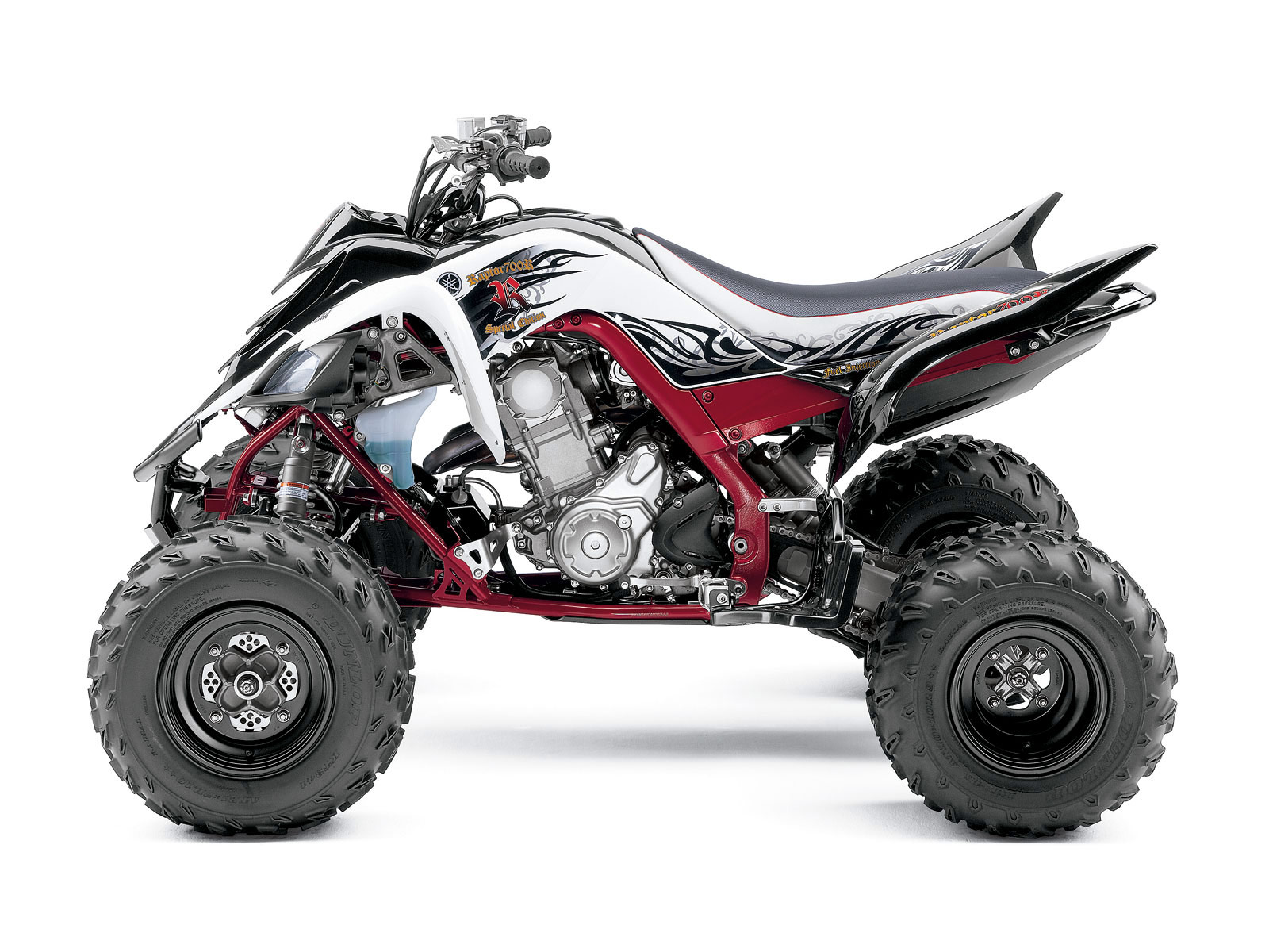 2010 yamaha raptor 700r se atv wallpapers