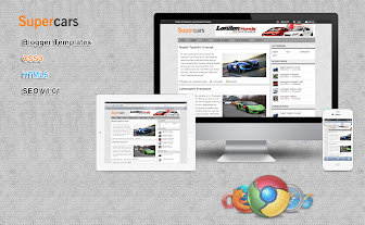 Supercars Blogger Template
