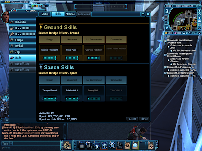 Star Trek Online - Bridge Officer Skills