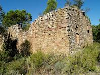 Parets de llevant i nord de la masia de L'Olleret