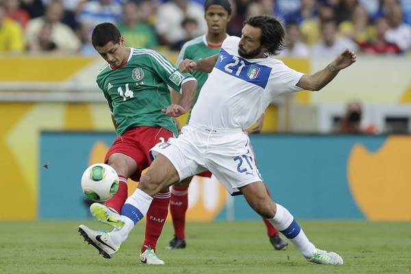 México vs Italia 1 - 2  Copa Confederaciones Brasil 2013