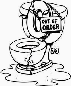 out of order - Bathroom Out Of Order