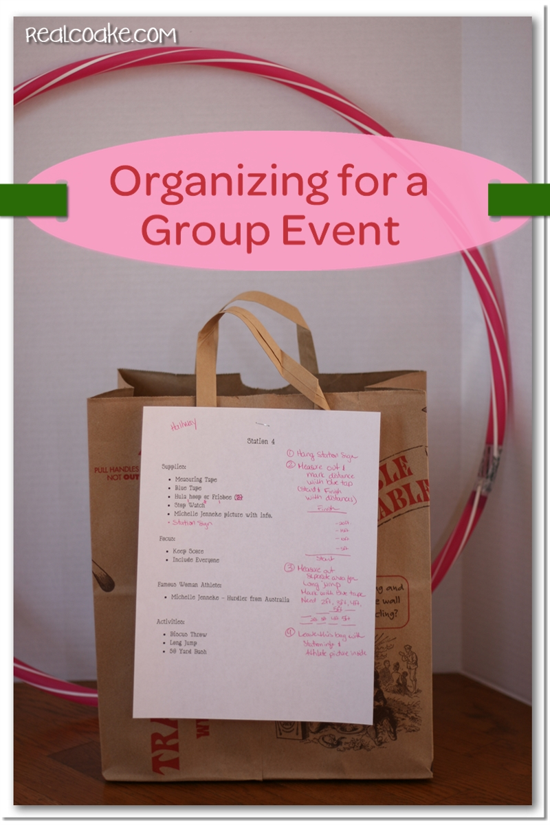 event organization girl scout activities the real
