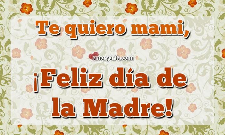 imagen con frase y mensaje para el dia de la madre con flores