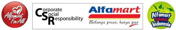 CSR Alfamart Minimarket Indonesia