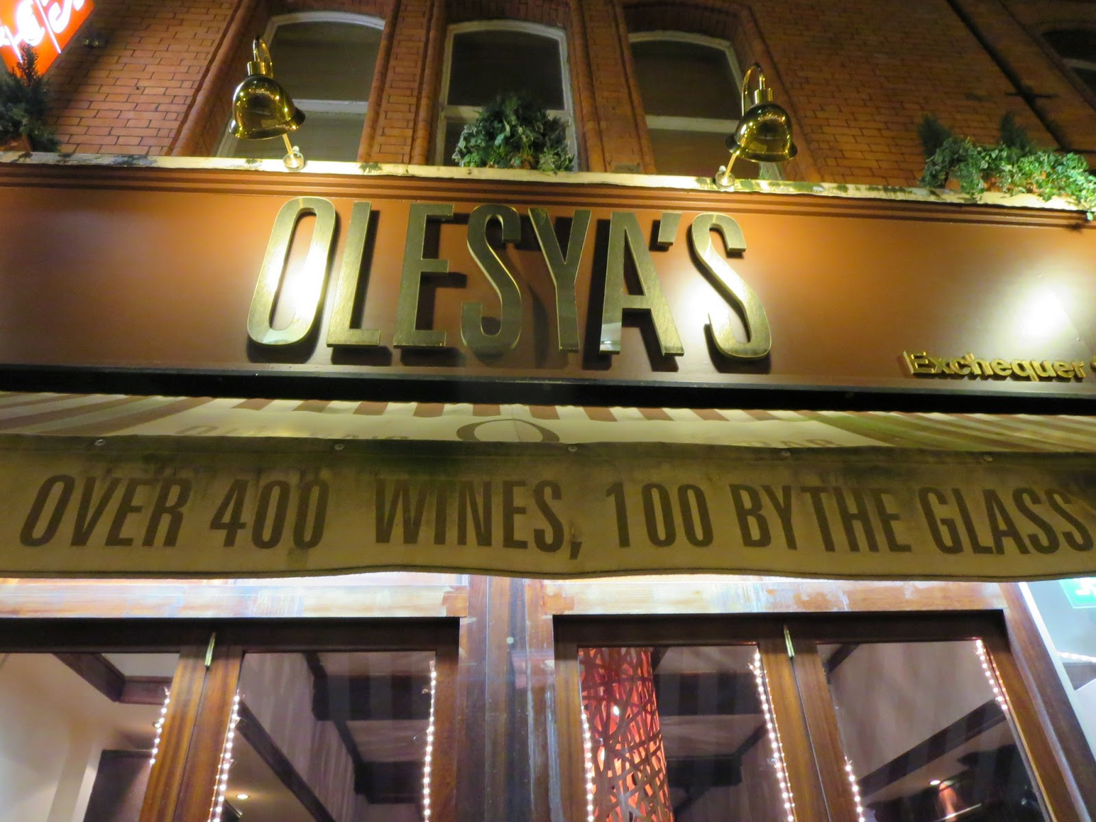 Olesya's on Exchequer Street, Dublin
