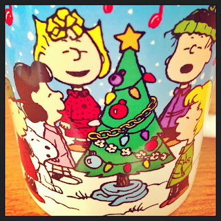Peanuts Christmas Mug