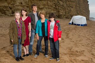 The Latimer family in Broadchurch, ITV