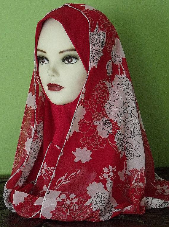 Red Hijab Styles 2013 | Hijab Styles Hijab Pictures Abaya Hijab Store Fashion Tutorials