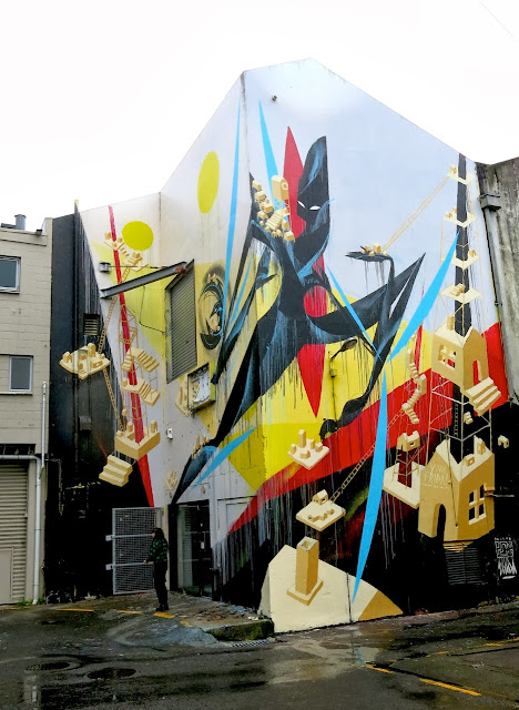 Street Art By Shida and ENO in Hamilton, Taumarunui, Tekuiti and Wanganui, New Zealand. 3