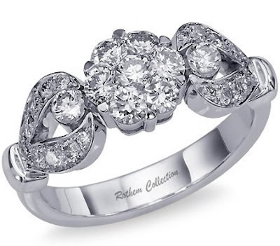 White gold wedding rings for Art Deco Wedding Bands ring women 39s wedding