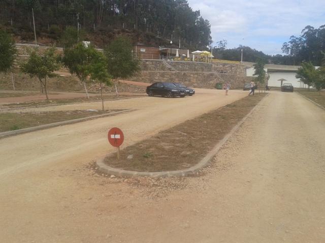 Parque de Estacionamento da Praia Fluvial de Bolviar